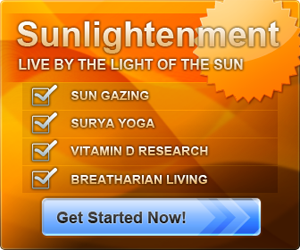 Sunlightenment - Sun Gazing Breatharian Surya Yoga website